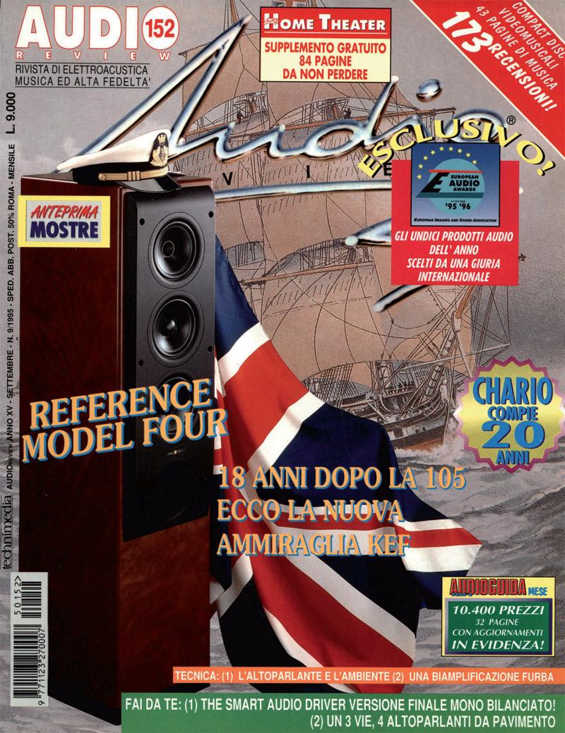 Copertina AUDIOreview 152