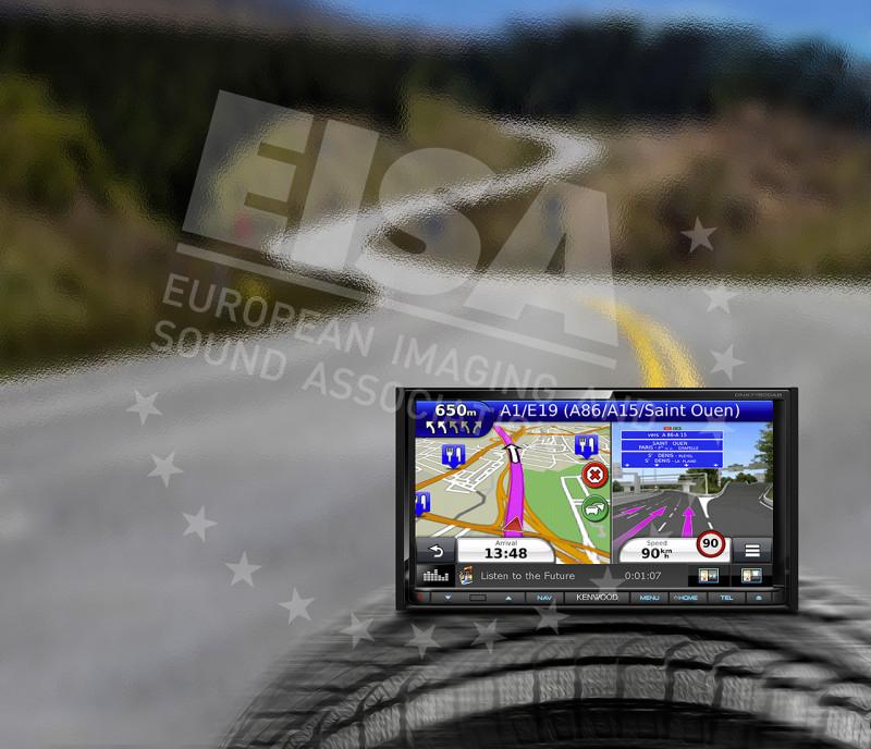 Kenwood DNX7150DAB - European In-Car Head Unit 2015-2016