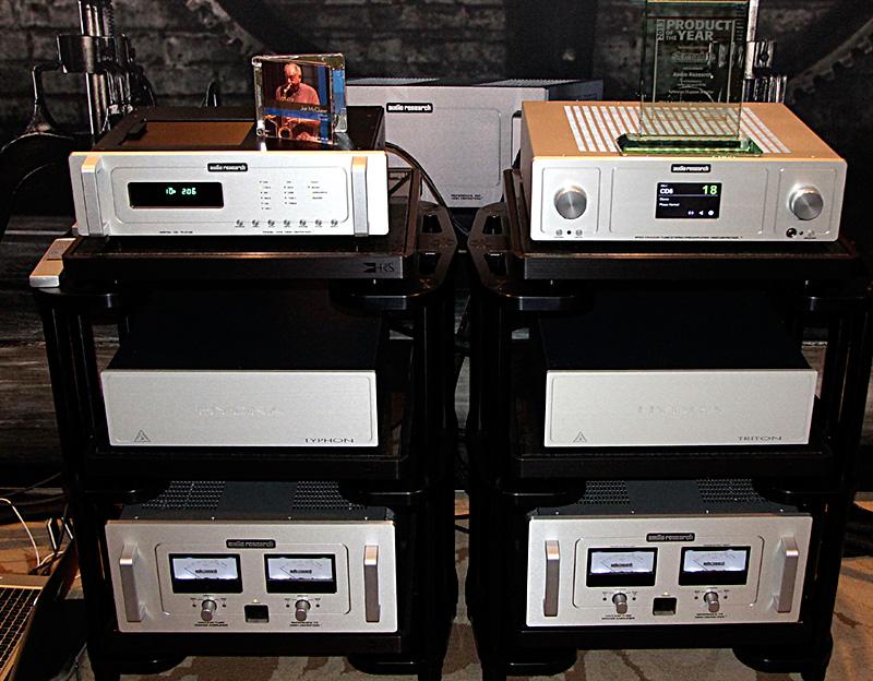 La catena di elettroniche Audio Research