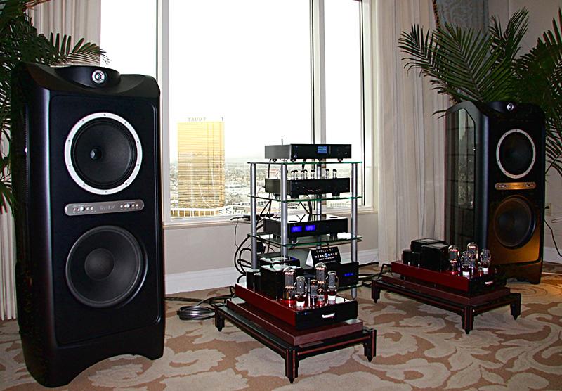 Cary Audio con i diffusori Tannoy.