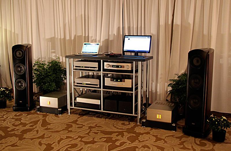 Sala TAD e particolare della catena delle elettroniche