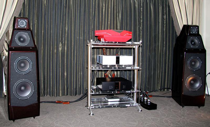Vitus Audio con i diffusori da pavimento Wilson Alexia