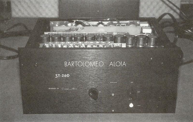 Il poderoso Bartolomeo Aloia ST260.
