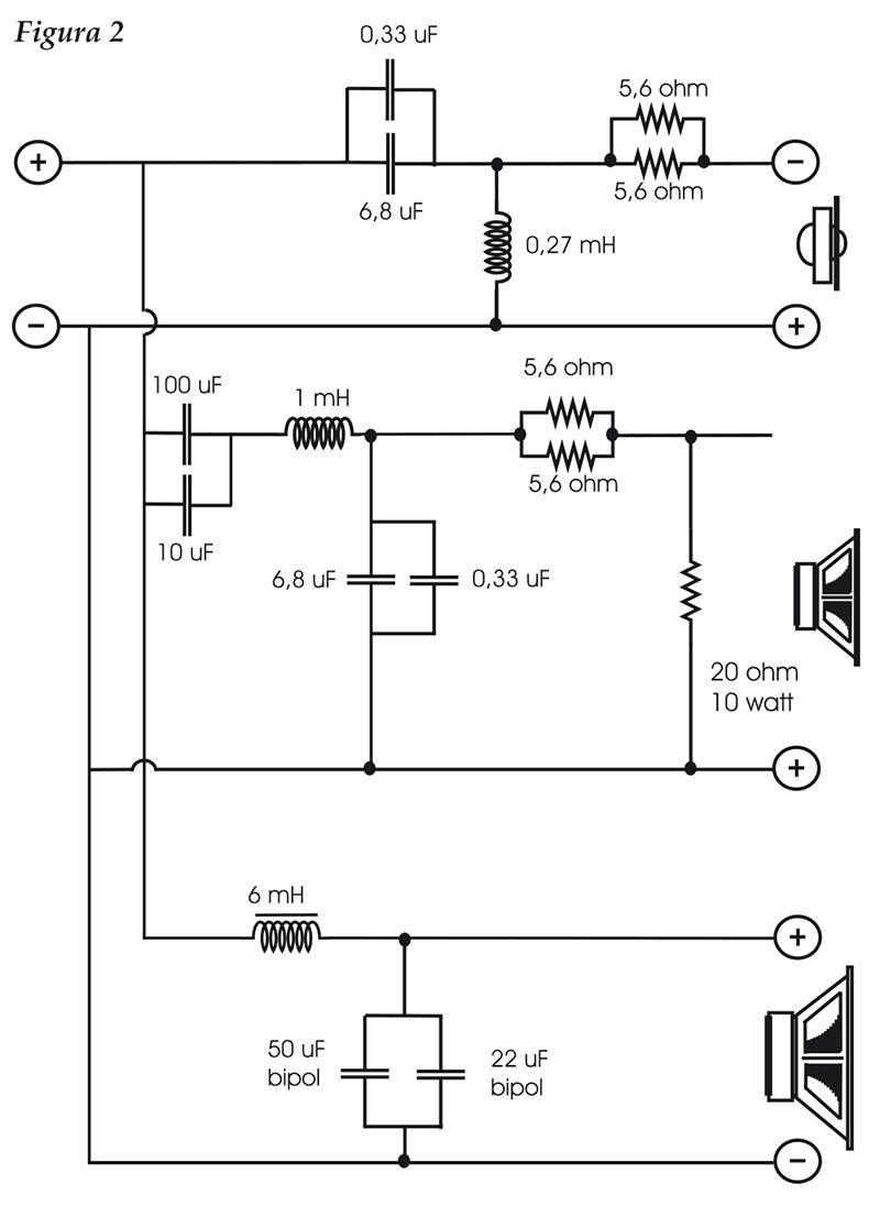 Schema Elettrico Per Subwoofer : Schema elettrico crossover audioreview