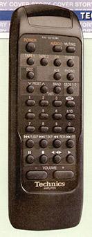 II preamplificatore viene fornito di un semplice, ma completo, telecomando.