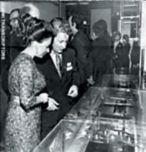 Nel 1971 la principessa Margaret consegnò a David Gammon, il premio London Design Centre.