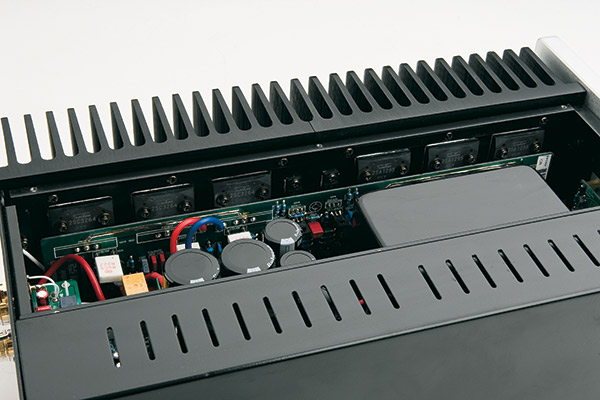 Realizzazione curata ed ordinata in cui la sezione di alimentazione è, correttamente, separata dagli stadi di amplificazione; secondo un approccio moderno, i tubi sono montati su circuito stampato.
