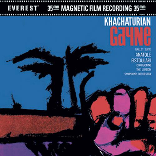 """Figura 9. La suite del balletto """"Gayne"""" di Khachaturian, resa disponibile dalla Classic Records in doppia versione: DVDA a 3 canali (anche con versione stereo 192/24 e con lato DVDV per la massima compatibilità) e CD stereo."""