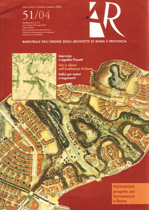 Figura 2 - La nuova copertina di AUDIOreview? No, è AR, la rivista bimestrale dell'Ordine degli Architetti di Roma e Provincia.