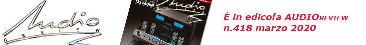 Leggi il sommario completo di AudioReview 418