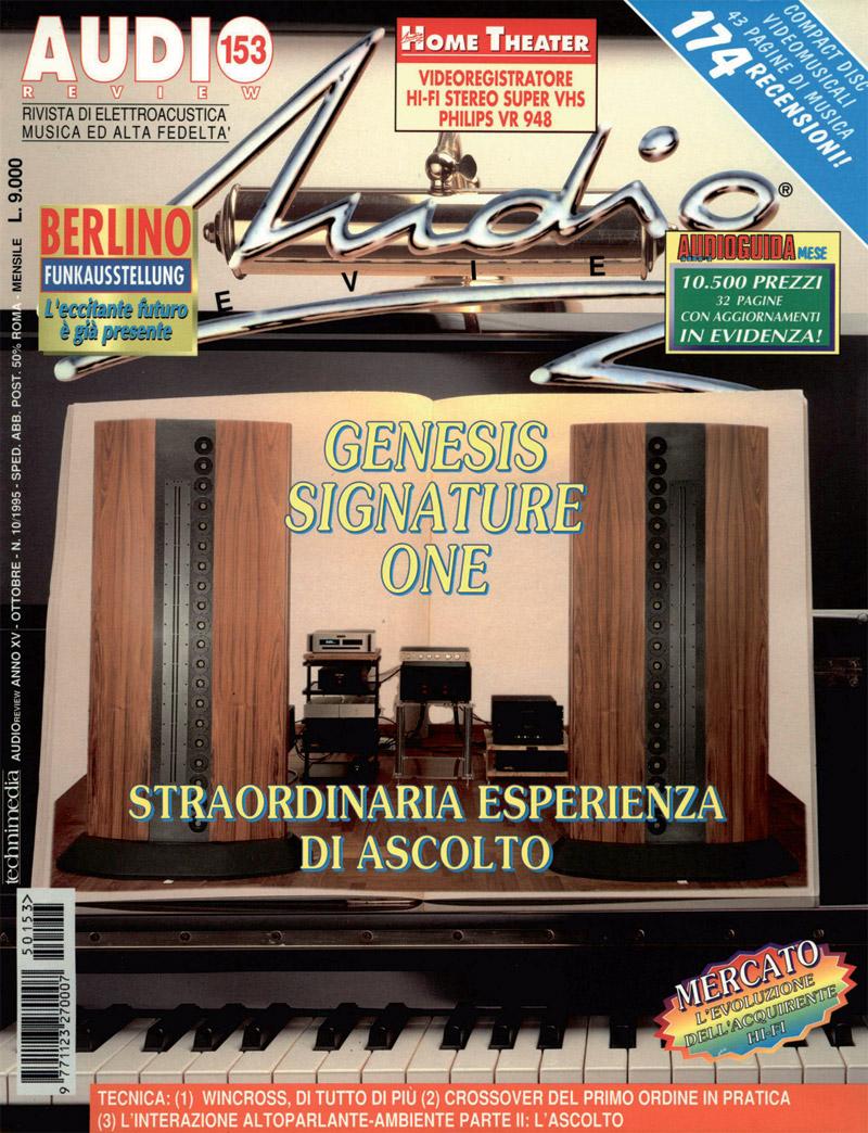 Copertina AUDIOreview 153