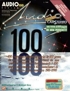 Copertina AUDIOreview 100