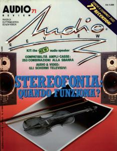 Copertina AUDIOreview 71