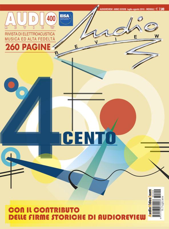 copertina AudioReview 400