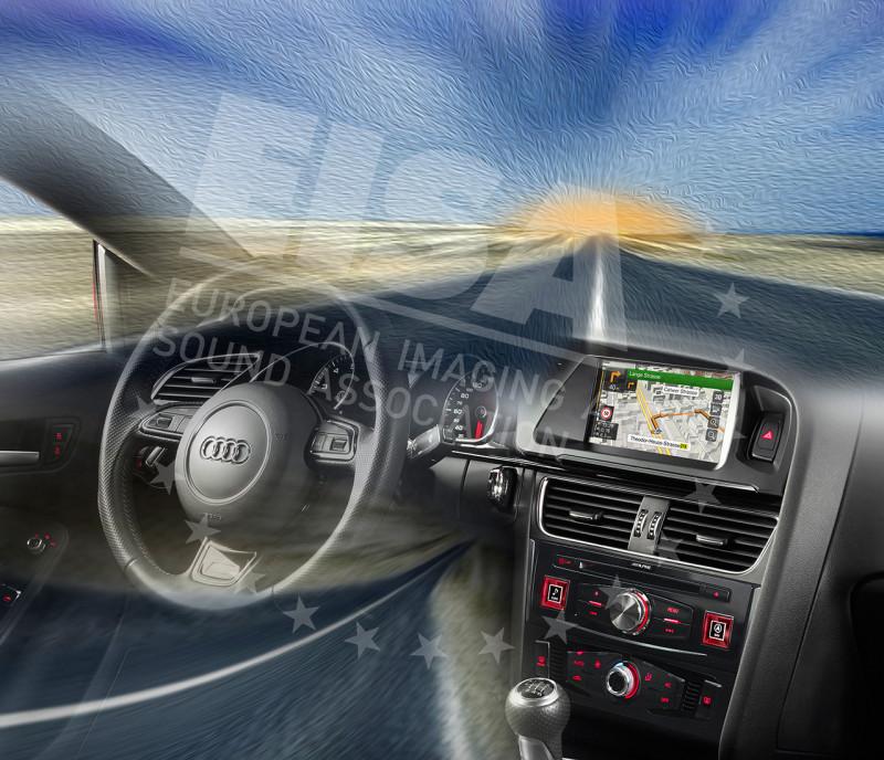 Alpine X701D-A - European In-car Premium Upgrade 2015-2016