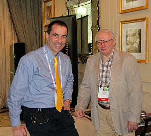 Marco Cicogna con Vladimir Lamm