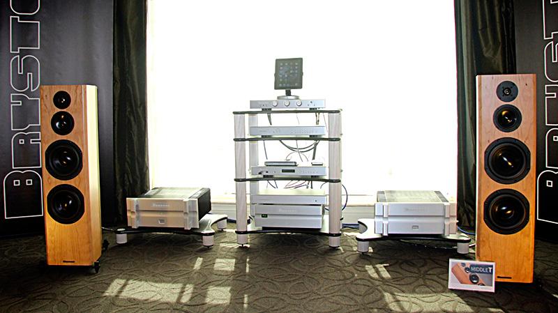 La sala Bryston con il Bryston Digital Player