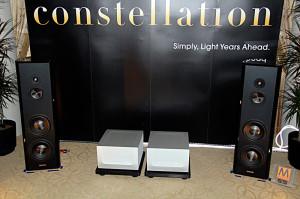 La sala Constellation Audio al CES e il media player Cygnus