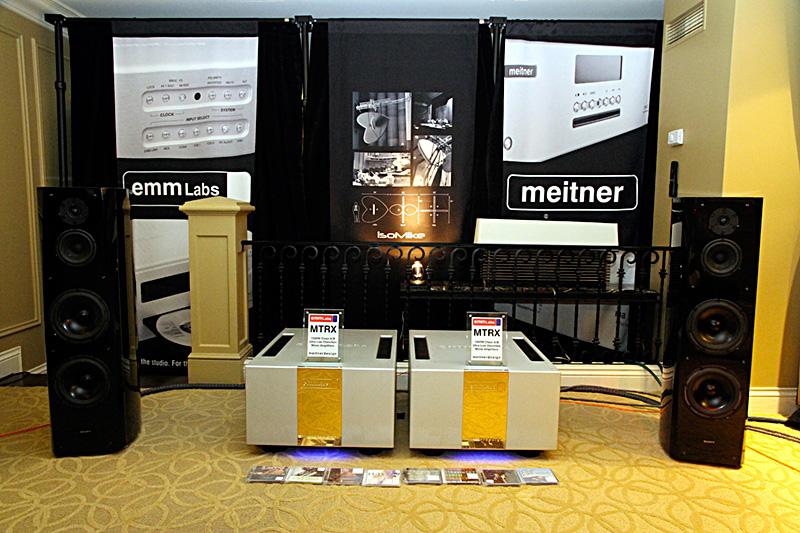 EMM Labs con i diffusori Sony