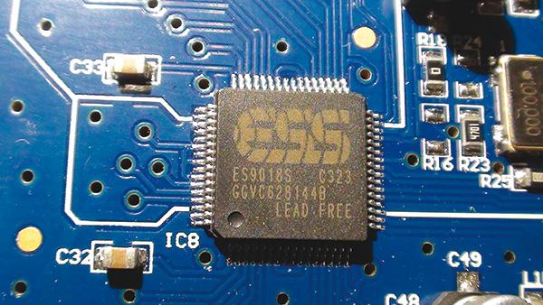Il convertitore D/A utilizzato nel Supremo è l'ES9018S, modello di vertice della pregiata serie SABRE32 di ESS.