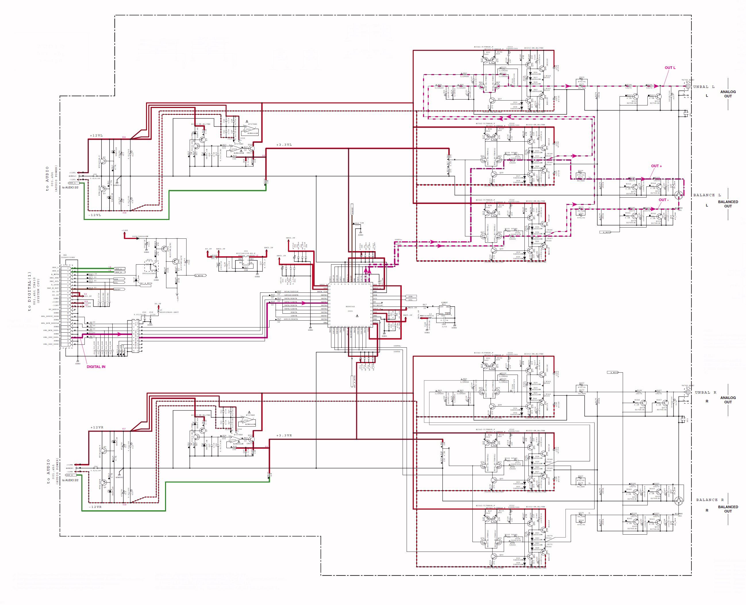 Schema Elettrico : Cd s schema elettrico audioreview
