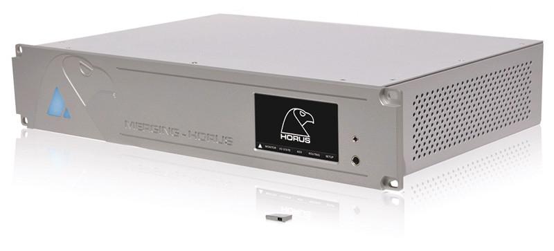 Il Merging Technologies Horus, un AD-DA da studio con cui sono state effettuate le prime registrazioni in DSD256.