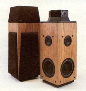 Figura 12 - II sistema di diffusione dbx Soundfield One.