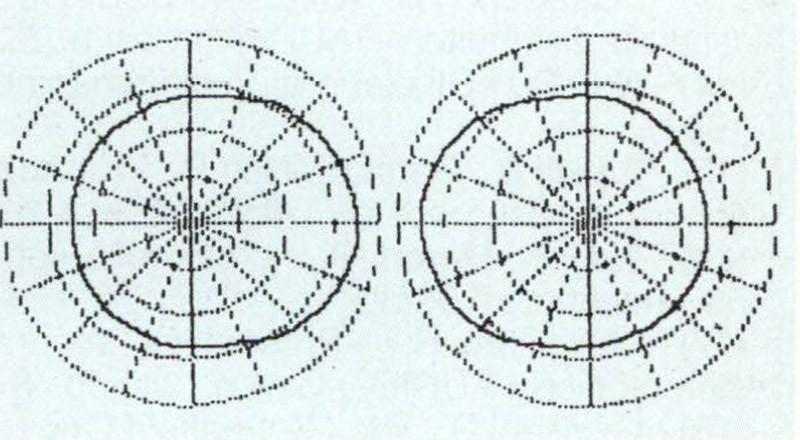 Figura 13 - Diagramma polare dell'emissione teorica del sistema di altoparlanti dbx.