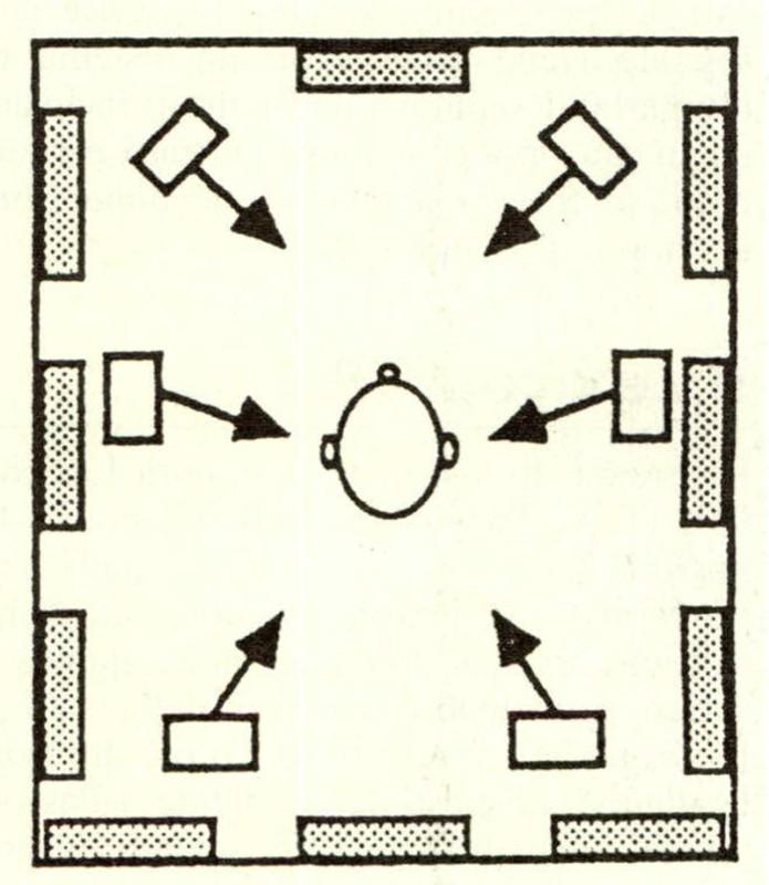 // Lexicon CP 1 tende ad arricchire la ripro duzione stereofonica di un elevato numero di riflessioni laterali. L'apparecchio fa uso di due o più diffusori aggiuntivi, disposti lateralmente all'ascoltatore, ai quali manda dei segnali estratti dal normale programma stereofonico ed opportunamente filtrati e ritardati.