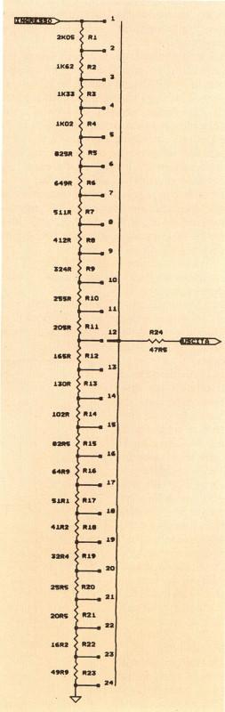Figura 3 - Schema completo dell'attenuatore